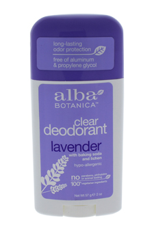 Clear Enzyme Deodorant Stick - Lavender