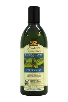 Organics Bath & Shower Gel - Peppermint