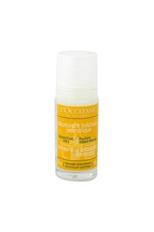 Refreshing Aromatic Deodorant by L'occitane for Unisex - 1.7 oz Deodorant Roll-On