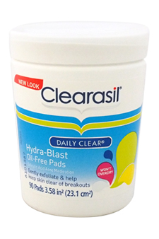 Daily Clear Hydra-Blast Oil-Free Pads