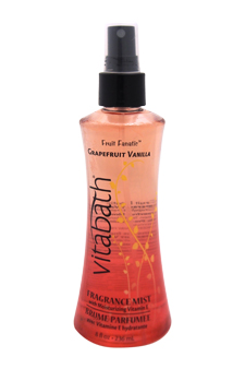 Grapefruit Vanilla Fragrance Mist by Vitabath for Unisex - 8 oz Body Mist