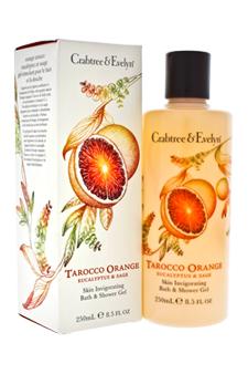 Tarocco Orange Eucalyptus & Sage Skin Invigorating Bath & Shower Gel by Crabtree & Evelyn for Unisex - 8.5 oz Bath & Shower Gel