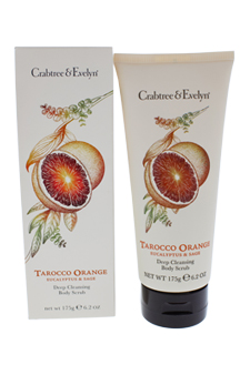 Tarocco Orange Eucalyptus & Sage Deep Cleansing Body Scrub Health Fitness Skin Care Beauty Supply Deals