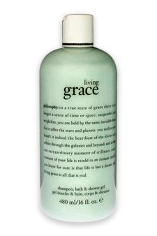 Living Grace Shampoo Bath & Shower Gel by Philosophy for Unisex - 16 oz Shower Gel