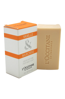 Vanille & Narcisse Perfumed Soap by L'Occitane for Unisex - 4.4 oz Soap
