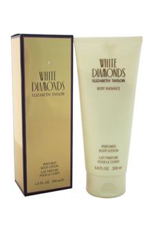 White Diamonds by Elizabeth Taylor for Women - 6.8 oz Body Lotion