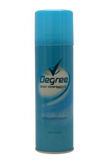 Shower Clean Aerosol Anti Per spirant & Deodorant Spray by Degree for Women - 6 oz Deodorant