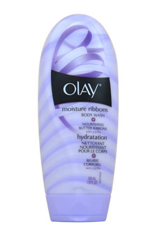 Olay Body Wash Plus Body Butter Ribbons by Olay for Women - 18 oz Body Wash
