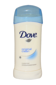 Original Clean Invisible Solid Deodorant by Dove for Women - 2.6 oz Deodorant Stick