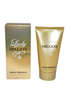 Lady Million for Women - 5.1 oz Body Lotion