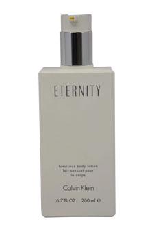 Calvin Klein Eternity women 6.7oz Body Lotion