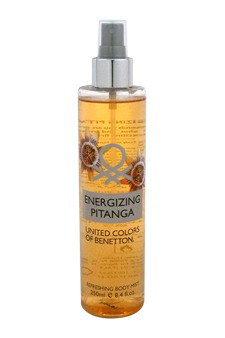 Energizing Pitanga by United Colors of Benetton for Women - 8.4 oz Body Mist