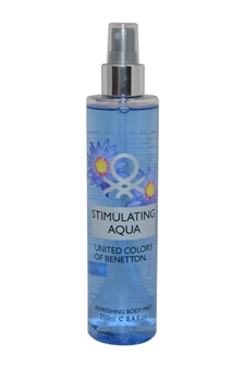 Stimulating Aqua by United Colors of Benetton for Women - 8.4 oz Body Mist