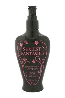 Sexiest Fantasies Strawberries & Champagne Fragrance Body Spray