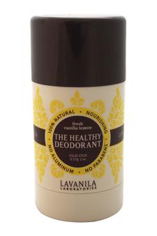 The Healthy Deodorant - Fresh Vanilla Lemon by Lavanila for Women - 2 oz Deodorant Stick