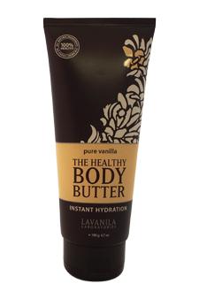 The Healthy Body Butter - Pure Vanilla by Lavanila for Women - 6.7 oz Body Butter