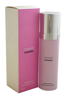 Chanel Chance women 3.4oz Spray Deodorant Spray