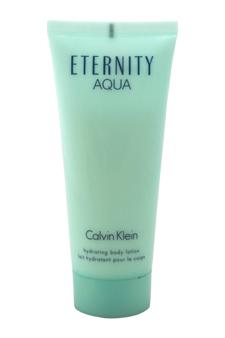 Calvin Klein Eternity Aqua women 3.4oz Body Lotion