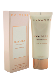 Bvlgari Omnia Crystalline L'EDP women 3.4oz Body Lotion