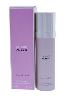 Chanel Chance Eau Tendre women 3.4oz Spray Deodorant Spray