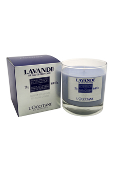 Lavender Relaxing Candle by L'Occitane for Unisex - 9.5 oz Candle
