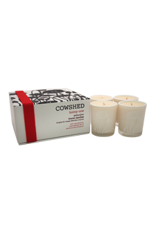 Horny Cow Seductive Travel Candles by Cowshed for Women - 4 x 1.34 oz Candle