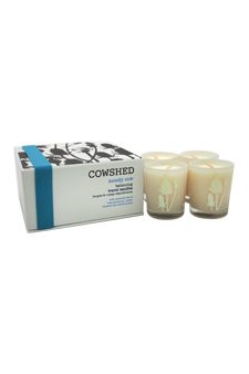 Moody Cow Balancing Travel Candles by Cowshed for Unisex - 4 x 1.34 oz Candle