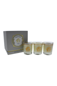 Noel Perfumed Candles Set by Annick Goutal for Unisex - 3 x 2.4 oz Perfumed Candle