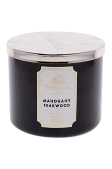 White Barn Mahogany Teakwood Scented Candle by Bath & Body Works for Unisex - 14.5 oz Candle