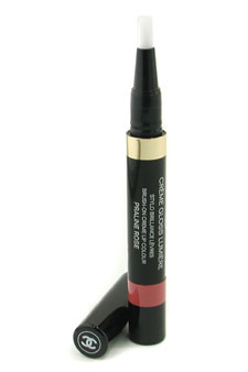 Creme Gloss Lumiere Brush On Creme Lip Colour - #77 Praline Rose by Chanel for Women - 0.04 oz Lip Gloss