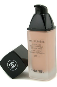 Mat Lumiere Long Lasting Soft Matte Fluid Makeup SPF15 - # 41 Soft Bisque by Chanel for Women - 1 oz SPF Makeup (US Version)