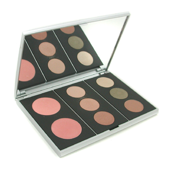 Artiste 2 Palette (2x Pressed Blush, 6x Pressed EyeShadow) - Nude Awaking by Youngblood for Women - 0.72 oz Palette - Nude Awaking: 2 x Pressed Blush (Sherbet, Blossom) 0.12oz/3.5g 6 x Pressed EyeShadow (Alabaster, Gloden Beryl, Penny, Co co, Irish Moss,