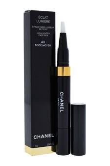 Eclat Lumiere Highlighter Face Pen - # 40 Beige Moyen by Chanel for Women - 0.04 oz Highlighter