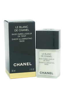 Le Blanc De Chanel Sheer Illuminating Base by Chanel for Women - 1 oz Foundation