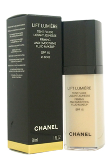 Lift Lumiere Firming and Smoothing Fluid Makeup SPF15 - No. 40 Beige by Chanel for Women - 30 ml Foundation