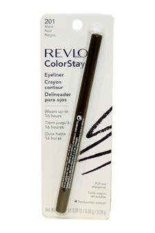 ColorStay Eyeliner Pencil #201 Black by Revlon for Unisex -