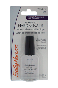 Advanced Hard As Nails With Nylon & Retinol # 2764-01 Nude by Sally Hansen for Unisex - 0.45 oz Nail Color