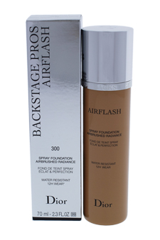 Dior Skin Airflash Spray Foundation - 300 Medium Beige by Christian Dior for Unisex - 2.3 oz Foundation