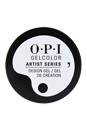 Gel Color Artist Series - The Time Is White by OPI for Women - 0.21 oz Design Gel