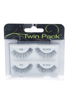 Twin Pack Lashes - # 105 Black