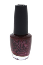 Nail Lacquer - # HL E08 Underneath The Mistletoe by OPI for Women - 0.5 oz Nail Polish