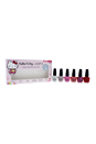 Nail Lacquer Mini Hello Kitty Cherry Blossom Collection by OPI for Women - 6 x 3.75 ml Showered by Petals, Dreams Of Spring, Look At My Bow, Sitting Under Cherry Blossoms, Starry - Eyed For Dear Daniel, Cherry Blooms
