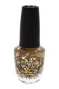 Nail Lacquer # NL G38 I Reached My Gold! by OPI for Women - 0.5 oz Nail Polish