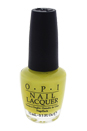 Nail Lacquer # NL N33 Life Gave Me Lemons by OPI for Women - 0.5 oz Nail Polish