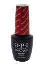 GelColor Soak-Off Gel Lacquer # GC A70 - Red Hot Rio by OPI for Women - 0.5 oz Nail Polish