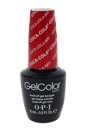 GelColor Soak-Off Gel Lacquer # GC C13 - Coca-Cola Red by OPI for Women - 0.5 oz Nail Polish