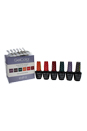 GelColor Soak-Off Gel Lacquer The Glamazons - # 2 by OPI for Women - 8 Pc 6 x 0.5oz Gel Color - GC A66 Where Did Suzis Man-go?, GC A69 Live.Love. Carnaval, GC A70 Red Hot Rico, GC A59 Next Stop� The Bikini Zone, GC A62 I Sao Paulo Over There, GC A64 AmazON... AmazOFF, 20 Pcs OPI Experttouch Removal Wraps, Blank Nail Palette