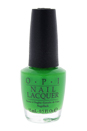 Nail Lacquer # NL BC4 Green Come True by OPI for Women - 0.5 oz Nail Polish