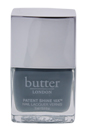 Patent Shine 10X Nail Lacquer - London Fog by Butter London for Women - 0.4 oz Nail Lacquer