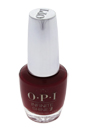 Infinite Shine 2 Gel Lacquer # ISL N25 - Big Apple Red by OPI for Women - 0.5 oz Nail Polish